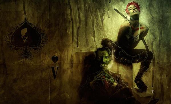 wormwood, gentleman corpse, choker, Ben Templesmith, art, comics, comic art, illustrator, illustration